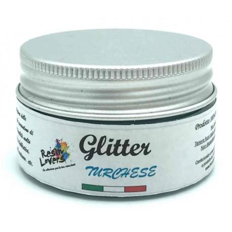 Glitter Turchese 10g
