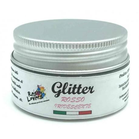 Glitter Rosso Iridescente 10g