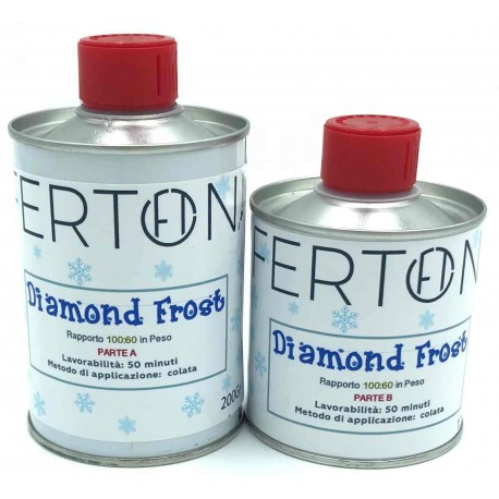 Resina Diamond Frost