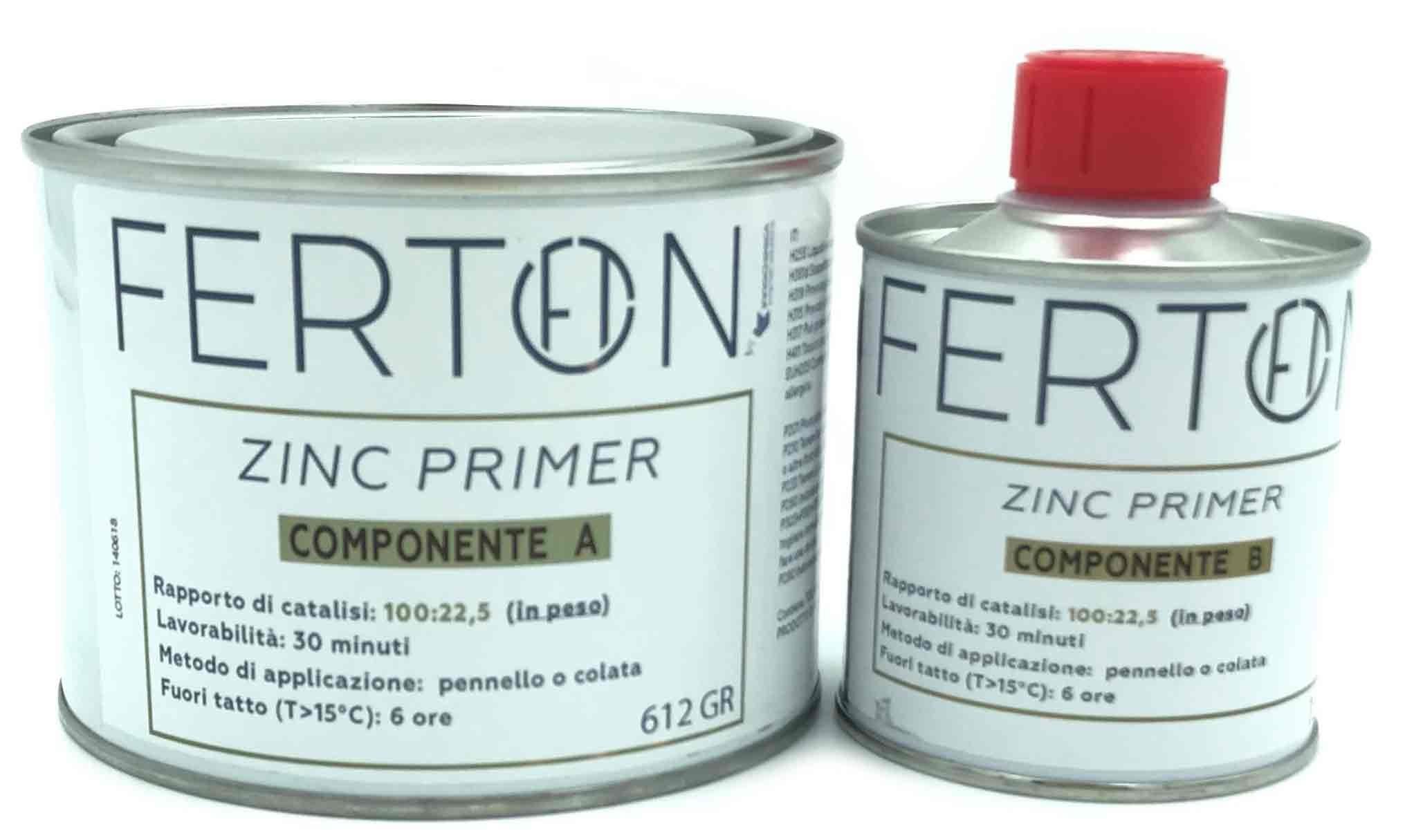 COMPONENTE B PRIMER ZINC PER SERBATOI FERTON COMPONENTE A
