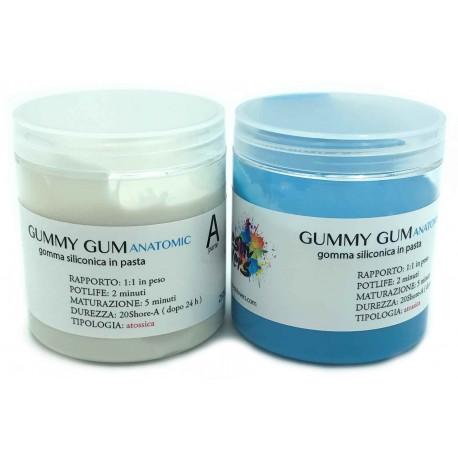 Paste Rubber: Gummy Gum Anatomic