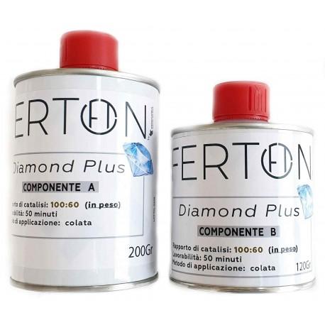 Trasparent Resin: Diamond Plus