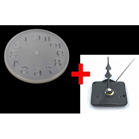 Stampo Orologio + Meccanismo