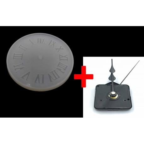 Roman Clock Mold + Mechanism