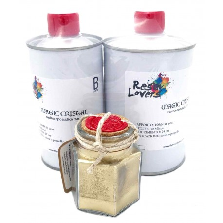 Metal Kit Oro Ricco Pallido
