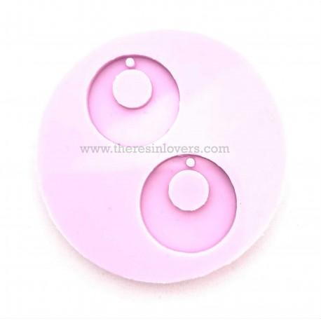 Glossy Round Pendant Mold