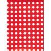 Carta regalo Pois Bianco e Rosso 70x100cm