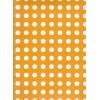 Carta regalo Pois Bianco e Arancio 70x100cm
