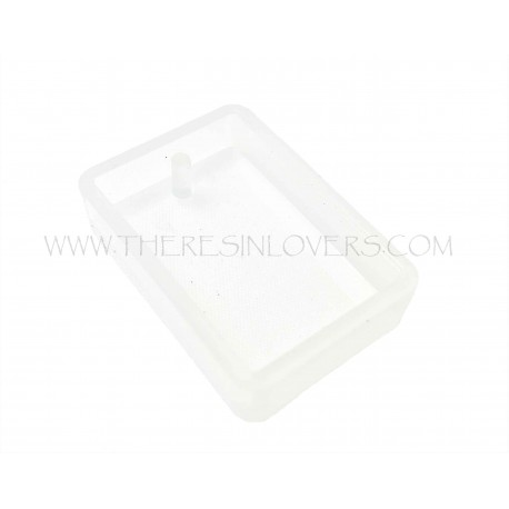 Rectangle mold 33.5x23x7.5mm