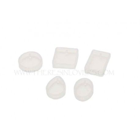 Mix Pendant Molds 5 Piece