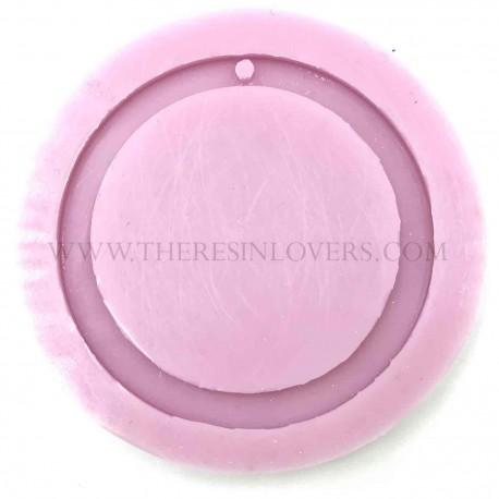 Stampo Lucido Pendente Cerchio 50mm