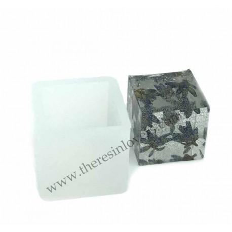 Cube mold 25x25x23 mm