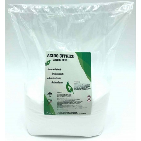 Pure Citric Acid Anhydrous