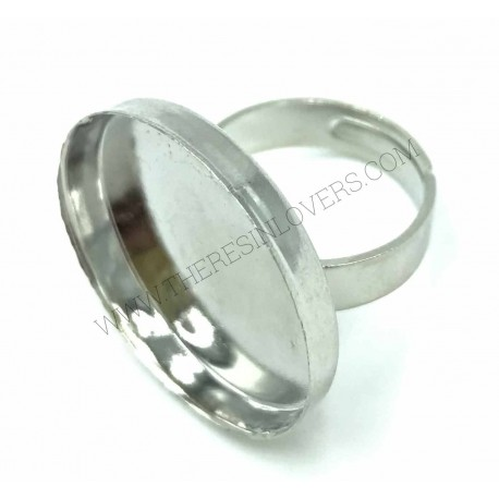 Adjustable ring base with 18mm bezel