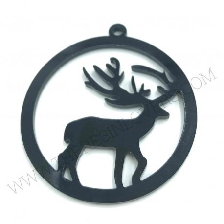 Christmas Reindeer Bezel