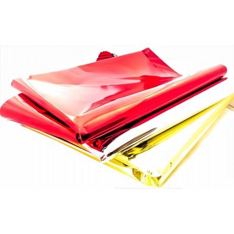 Carta Regalo Metallizzata Rossa 70x100cm