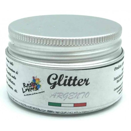Glitter Argento 10g